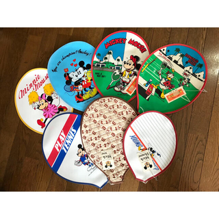ディズニー(Disney)の新品 タグ付 ディズニー ラケット カバー セット(絵画/タペストリー)