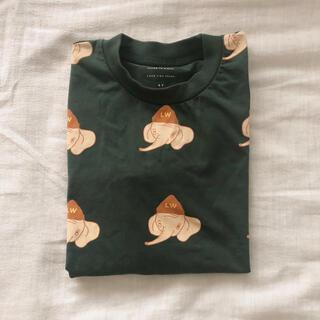 コドモビームス(こどもビームス)のtinycottons タイニーコットン 4y 長袖 Tシャツ ぞうさん(Tシャツ/カットソー)