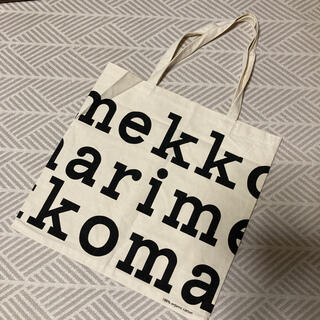 marimekko - マリメッコ ロゴ トートバッグ
