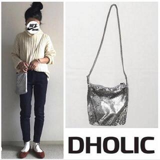 ディーホリック(dholic)の24SALE Dholic metalmesh shoulderbag(ショルダーバッグ)