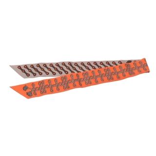 エルメス(Hermes)のエルメス  ツイリー スカーフ オレンジ/グレージュ系(バンダナ/スカーフ)