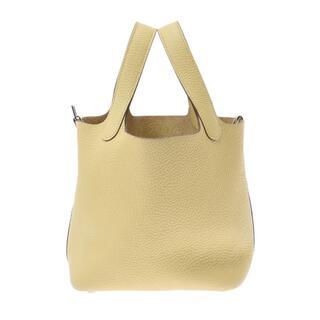 エルメス(Hermes)のエルメス  ピコタンロック PM  ハンドバッグ ジョーヌプッサン(黄色)(ハンドバッグ)
