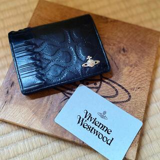 Vivienne Westwood - 美品希少VivienneWestwood 黒革スクイグルパスケース