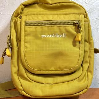 mont bell - モンベル☆トラベルポーチSマスタード mont-bell ショルダーバッグ