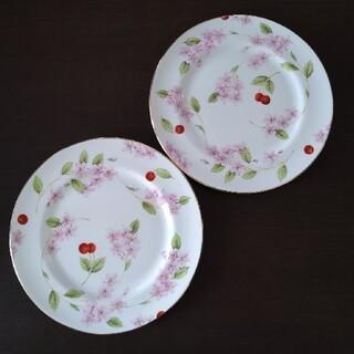 エインズレイ(Aynsley China)の【Aynsley】ケーキ皿 2枚(食器)