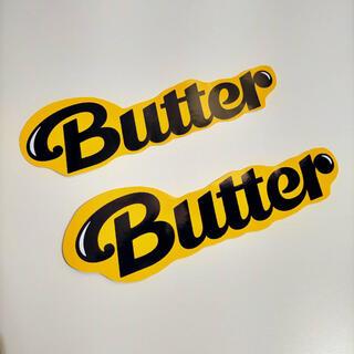 """ボウダンショウネンダン(防弾少年団(BTS))のBTS""""Butter"""" オリジナルステッカー2枚(アイドルグッズ)"""