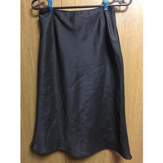 サブストリート(sabstreet)のサブストリート サマーツイード素材マーメイドスカート9号黒(ひざ丈スカート)