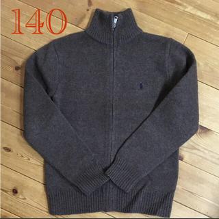 ラルフローレン(Ralph Lauren)の◎専用◎ ラルフローレンジップアップニットカーディガン140 セーター カウチン(カーディガン)