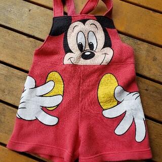 ミッキーマウス(ミッキーマウス)のレトロミッキー90サイズ ディズニー(パンツ/スパッツ)