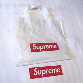 シュプリーム(Supreme)の非売品 ショッパー バック エコバック supreme 2021  ボックスロゴ(エコバッグ)