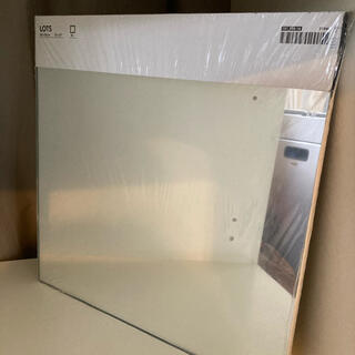 イケア(IKEA)のIKEA LOTS 鏡 4枚 30cm×30cm(壁掛けミラー)