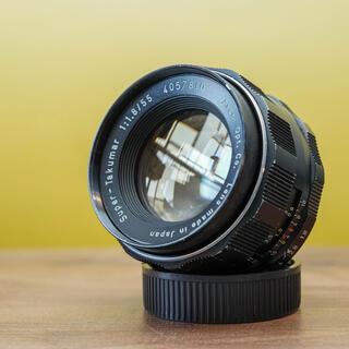 PENTAX - 【光学美品】スーパータクマー 55mm f1.8  後期 オールドの定番