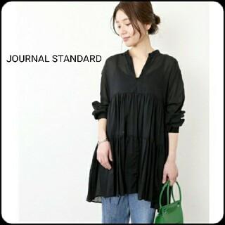 JOURNAL STANDARD - 【美品】JOURNAL STANDARD ティアードチュニック ブラック 黒