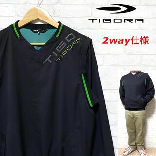 ティゴラ(TIGORA)のTIGORA ティゴラ ゴルフ 2WAY仕様 ウィンドブレーカー ベスト(ウエア)