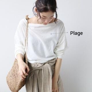 プラージュ(Plage)の【Plage】ピースダイルーズTシャツ ◆美品◆(カットソー(長袖/七分))