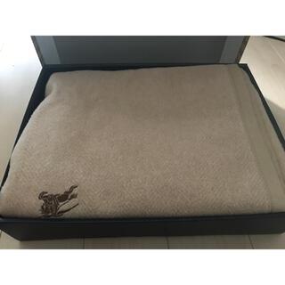 バーバリー(BURBERRY)のBURBERRY バーバリー 毛布 140×200cm 箱付(毛布)
