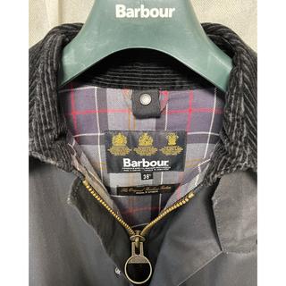 バーブァー(Barbour)のbarbour BORDER SL バブアー ボーダー サイズ36(ステンカラーコート)