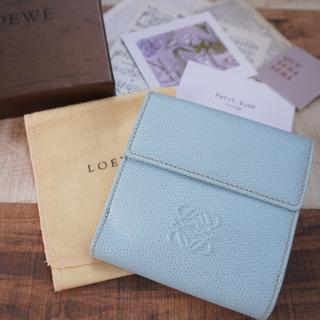 LOEWE - ロエベ アナグラムポイント Wホック財布