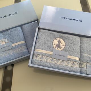 ウェッジウッド(WEDGWOOD)のウェッジウッド ⭐️フェイスタオル・ウォッシュタオル⭐️各2枚(タオル/バス用品)