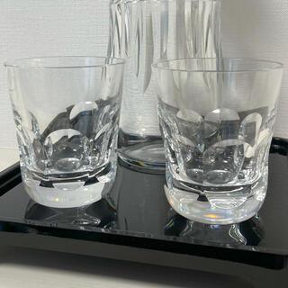 バカラ(Baccarat)の バカラアルクール イヴ 美品 ペア グラス タンブラー クリスタル ブランド(アルコールグッズ)