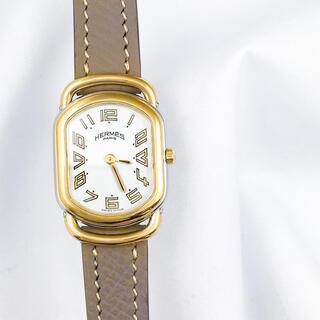Hermes - 【OH済/ベルト2色】エルメス ラリー コンビ レディース 腕時計