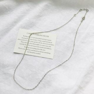 アネモネ(Ane Mone)のあずきチェーン ステンレス チョーカー ネックレス(ネックレス)