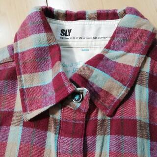スライ(SLY)のSLY ネルシャツ(シャツ/ブラウス(長袖/七分))