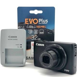 Canon - Canon PowerShot S120 キヤノン SD32GB付き