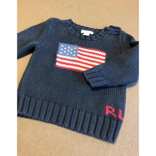 ラルフローレン(Ralph Lauren)のラルフローレン ベビー セーター 国旗 12m(ニット/セーター)