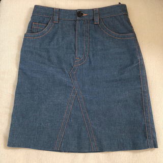 プラダ(PRADA)のPRADA デニムスカート(ひざ丈スカート)