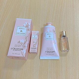 L'OCCITANE - ロクシタン ネロリ&オーキデプレミアムハンドクリーム オードトワレ香水