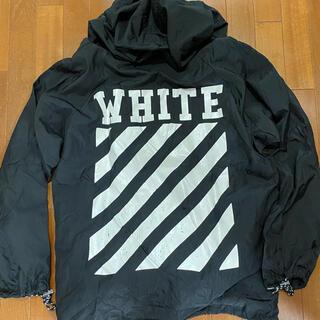 OFF-WHITE - OFF WHITE オフホワイト ナイロンパーカー アノラック