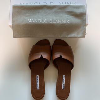 マノロブラニク(MANOLO BLAHNIK)の10/26までお値下げ MANOLO BLAHNIK マノロブラニク サンダル(サンダル)