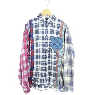 Needles - rebuild by NEEDLES L/S REMAKE FLANNEL