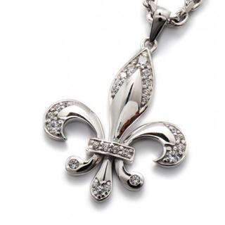 AVALANCHE - AVALANCHE silver925 百合の紋章ペンダントトップ アヴァランチ