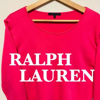 ラルフローレン(Ralph Lauren)のラルフローレン 七分丈 ロンT   美品 サイズL  即日発送(Tシャツ/カットソー(七分/長袖))