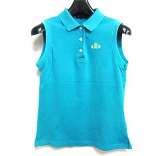 パーリーゲイツ(PEARLY GATES)のパーリーゲイツ ポロシャツ ノースリーブ 鹿の子 ゴルフウェア 0(ポロシャツ)