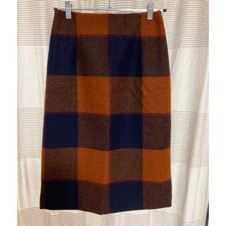 テチチ(Techichi)のTe chichi  ブロックチェックタイトスカート(ロングスカート)