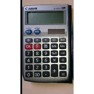 キヤノン(Canon)の手帳サイズ Canon 電卓12桁(オフィス用品一般)