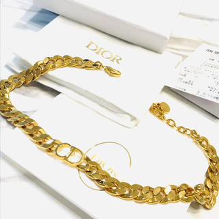 Dior - DIOR チョーカー 新品未使用 レシート原本あり 確実正規品