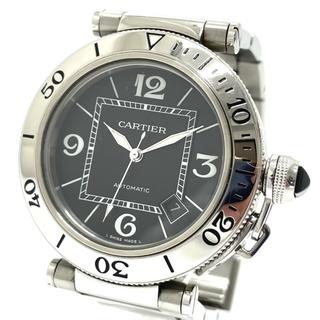 カルティエ(Cartier)のカルティエ 2790 パシャ 自動巻き デイト メンズ腕時計 シルバー(腕時計(アナログ))