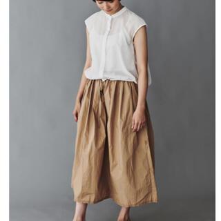 ミナペルホネン(mina perhonen)の新品 ミナペルホネン papier スカート パピエ(ロングスカート)