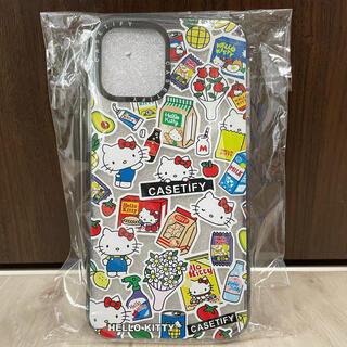 ハローキティ(ハローキティ)の《新品未開封》 iPhone12 ケース クリア キティちゃん(iPhoneケース)