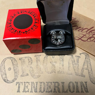TENDERLOIN - 人気品! TENDERLOIN ホースシューリング シルバー ダイヤモンド 13