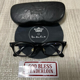 TENDERLOIN - 人気品! TENDERLOIN 白山眼鏡 インザウィンド ブラックゴールド 黒金