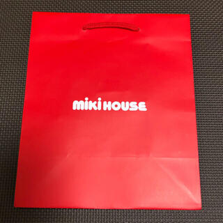 ミキハウス(mikihouse)の新品未使用 mikihouse ミキハウス ショップ袋 紙袋 ショッパー 小(ショップ袋)