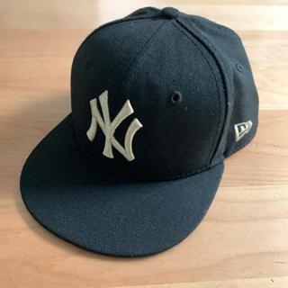 ニューエラー(NEW ERA)のニューエラキャップ キッズ 51.1センチ 59FIFTY  帽子 ブラック(帽子)