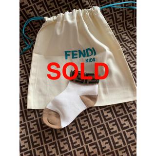 即日発送❤️ FENDI kids ベビーソックス 靴下 ❤️ 新品未使用