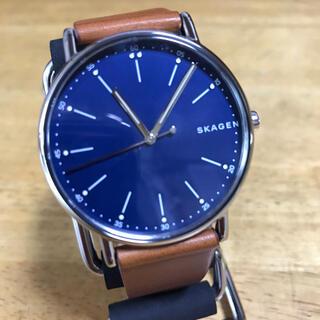 スカーゲン(SKAGEN)の新品✨スカーゲン SKAGEN クオーツ 腕時計 SKW6355 ネイビー(腕時計(アナログ))