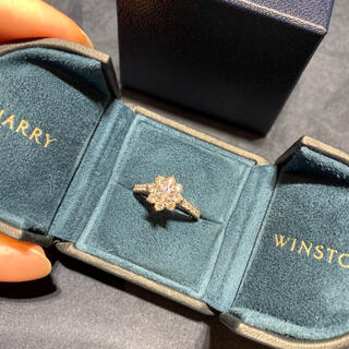 HARRY WINSTON - ハリーウィンストン  ファインジュエリー サンフラワーコレクション リング 指輪